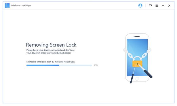 MyFone LockWiper cómo desbloquear un iPhone