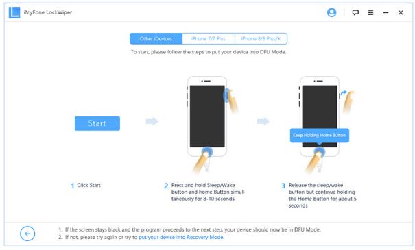 MyFone LockWiper: cómo desbloquear un iPhone