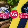 [VS] Apple watch series 4 vs Samsung galaxy watch active