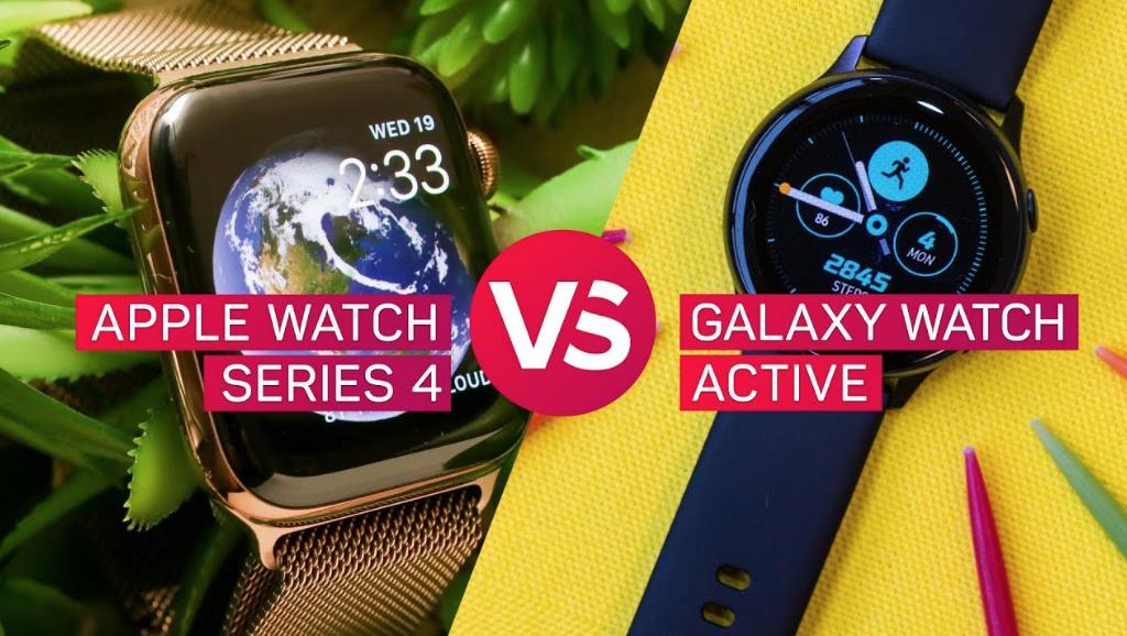 apple watch series 4 vs samsung galaxy watch active