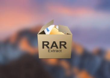 Cómo abrir y descomprimir un archivo RAR en Mac Catalina