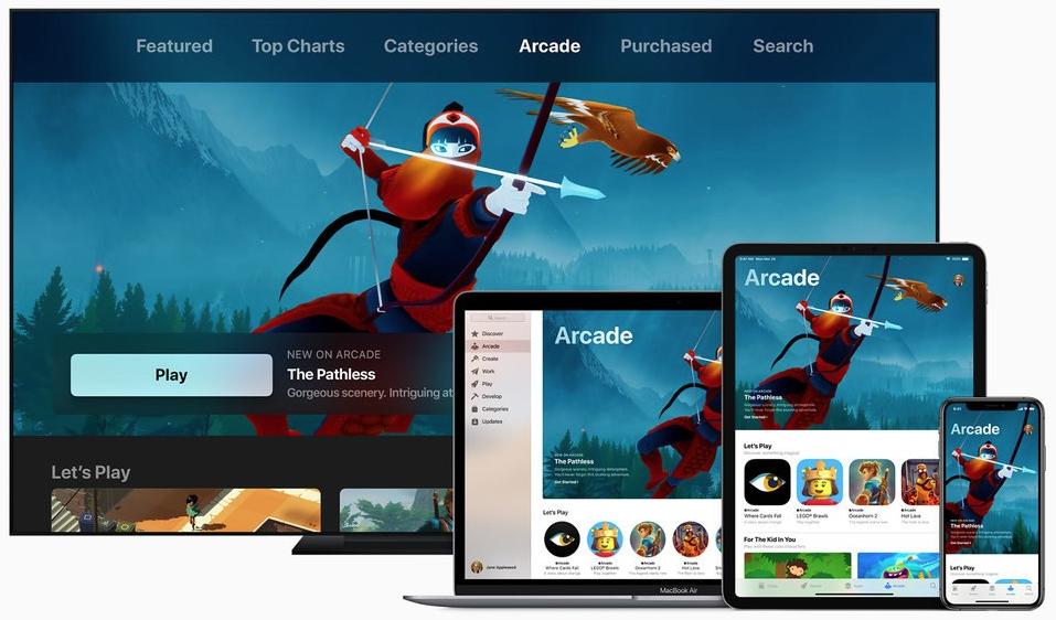 Apple Arcade una nueva plataforma de juegos de Apple
