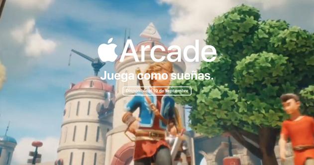 Apple Arcade estará disponible a partir del 19 de septiembre