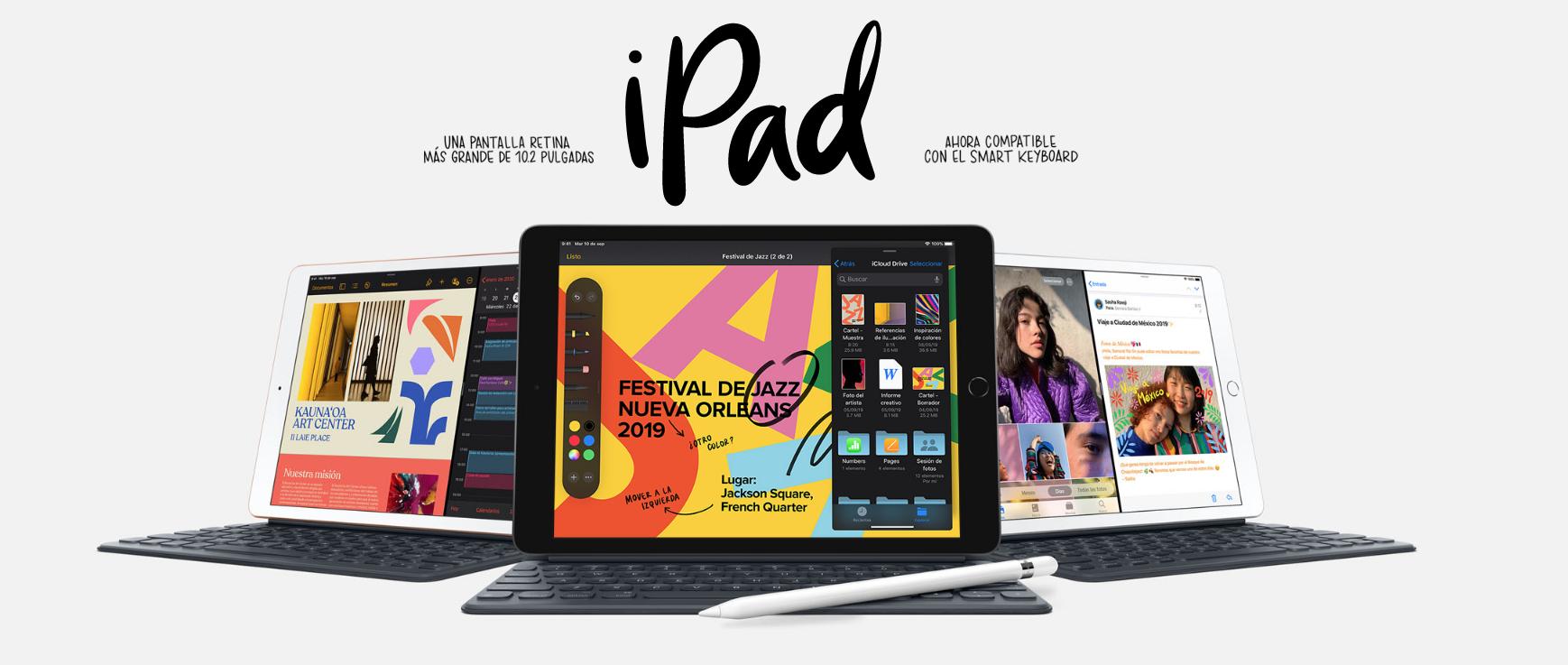 Nueva versión del iPad más económica que todos.