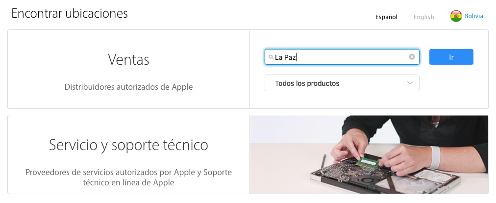 TechStore Bolivia es distribuidor Autorizado de Apple
