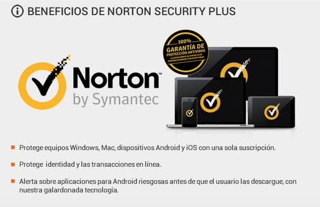 Garantía del nuevo Norton Security