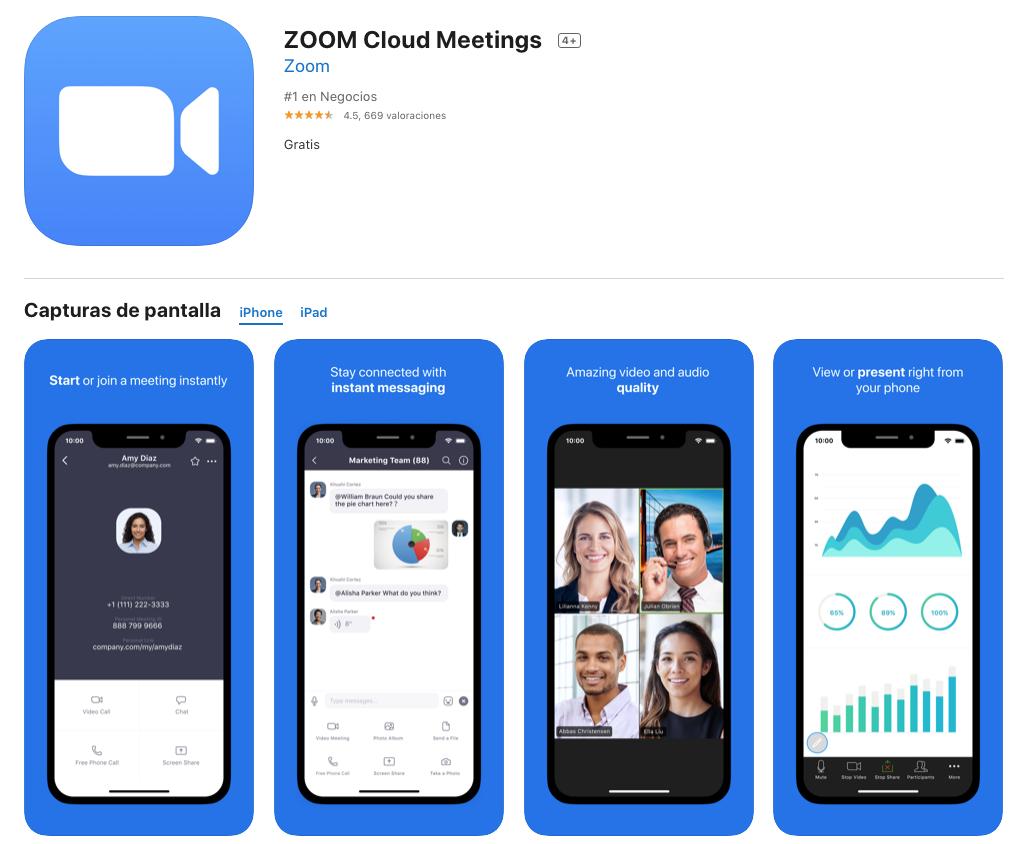 ZOOM Cloud Meetings para Mac