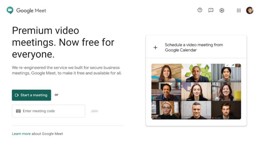 Descargar Google Meet en Español
