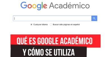 Qué es Google Académico?