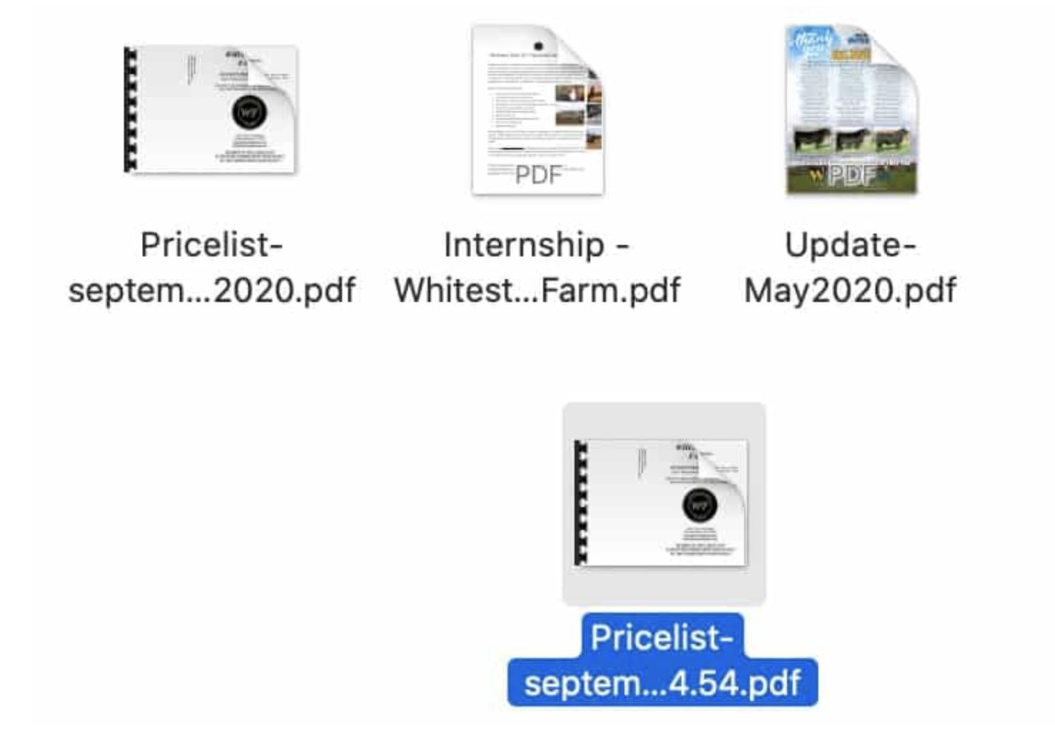Fusionar varios archivos PDFs en Mac