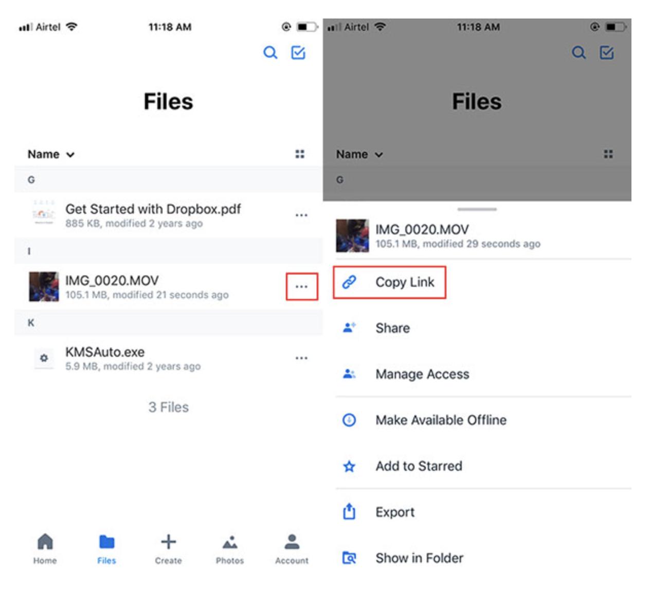como enviar videos largos por whatsapp desde iPhone